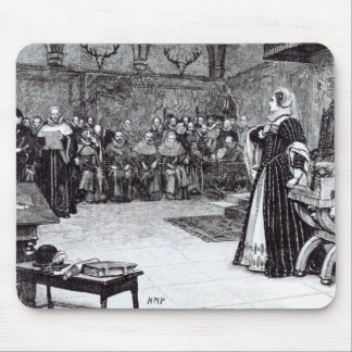 Trial of Mary Queen of Scots Mouse Pad