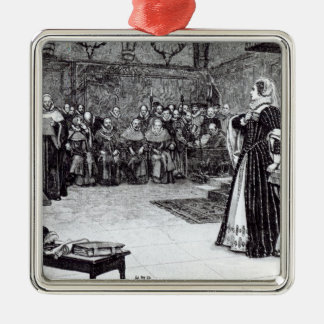 Trial of Mary Queen of Scots Christmas Ornament