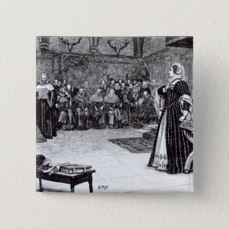 Trial of Mary Queen of Scots Pinback Button