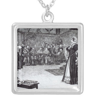 Trial of Mary Queen of Scots Silver Plated Necklace
