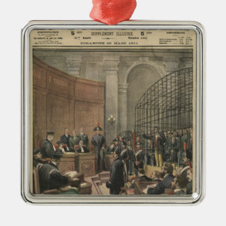 Trial of the Camorra Christmas Tree Ornament