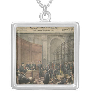 Trial of the Camorra Silver Plated Necklace