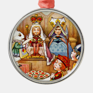 Trial of The Knave of Hearts - Alice In Wonderland Ornaments