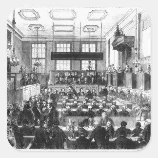 Trial of William Palmer Square Sticker