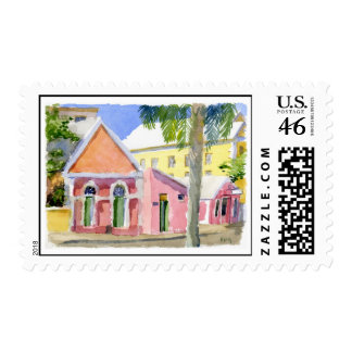 Trial Rooms postage stamp