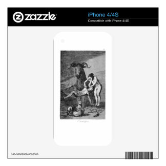 Trials by Francisco Goya Decals For The iPhone 4