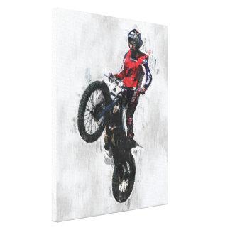 Trials rider canvas