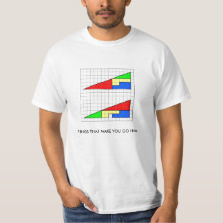 triangle2, THINGS THAT MAKE YOU GO HMM T-Shirt