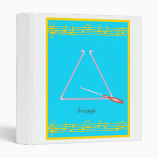 triangle 3 ring binder