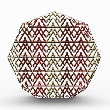Aztec Themed Triangle Aztec Pattern Award
