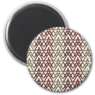 Triangle Aztec Pattern Magnet