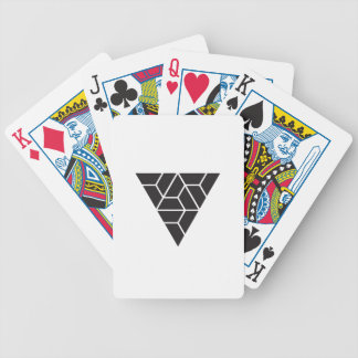 Triangle Bicycle Playing Cards