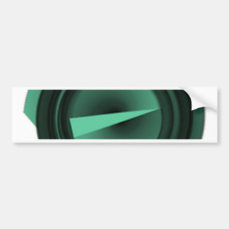 triangle bumper sticker