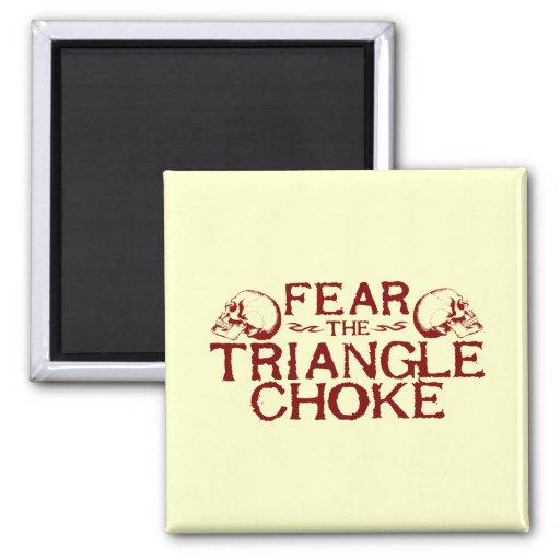 Triangle Choke 2 Inch Square Magnet