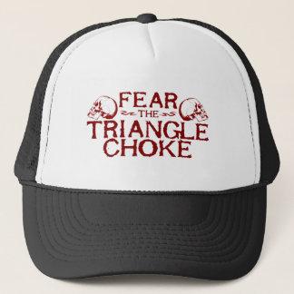 Triangle Choke Trucker Hat