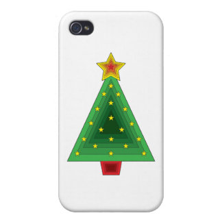 Triangle Christmas Tree iPhone 4/4S Case