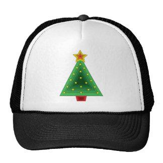 Triangle Christmas Tree Trucker Hat