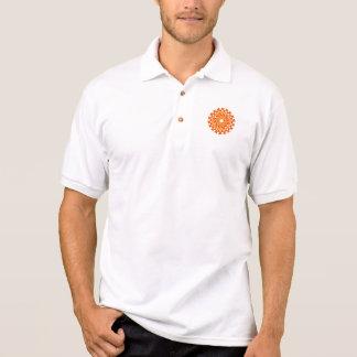 Triangle Circle  Polo Shirt
