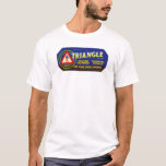 Triangle citrus - Vintage Fruit Crate Label T-Shirt