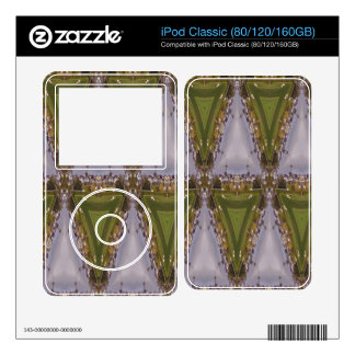 Triangle city pattern skins for iPod classic