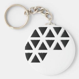 Triangle Cliffs - Black Keychain