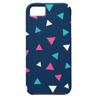 Triangle Confetti Design iPhone SE/5/5s Case