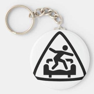 Triangle CS Key Wrangler Keychain