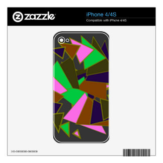triangle decals for iPhone 4