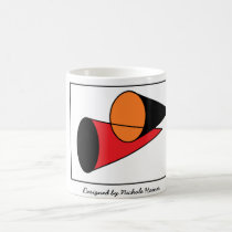TRIANGLE DESIGN COFFEE MUG