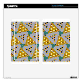 Triangle Design Kindle Fire Decal