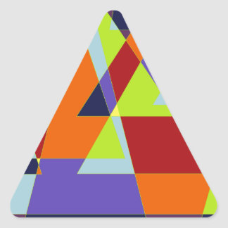 Triangle design. triangle sticker