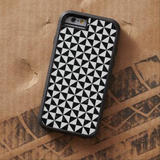 Triangle Diamond Black White Tongan Tribal Pattern Tough Xtreme iPhone 6 Case