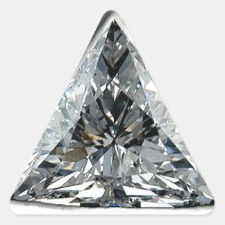 Triangle Diamond Print Sticker