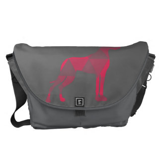 Triangle Dogge Courier Bag