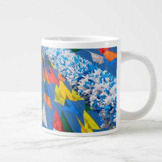 Triangle Flag Decoration Giant Coffee Mug