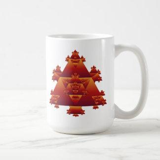 Triangle Fractal: Vector Art: Coffee Mug