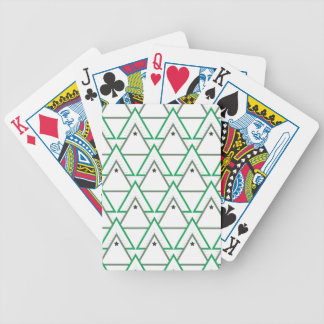 triangle galaxy bicycle playing cards