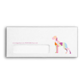 Triangle Great Dane Envelope