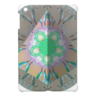 Triangle Humming bird Kaleidoscope 3d iPad Mini Cover