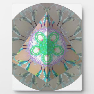 Triangle Humming bird Kaleidoscope 3d Plaque
