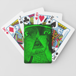 Triangle In A Pyramid Bicycle Playing Cards
