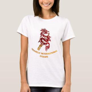 Triangle International Titans (Gold Text) T-Shirt