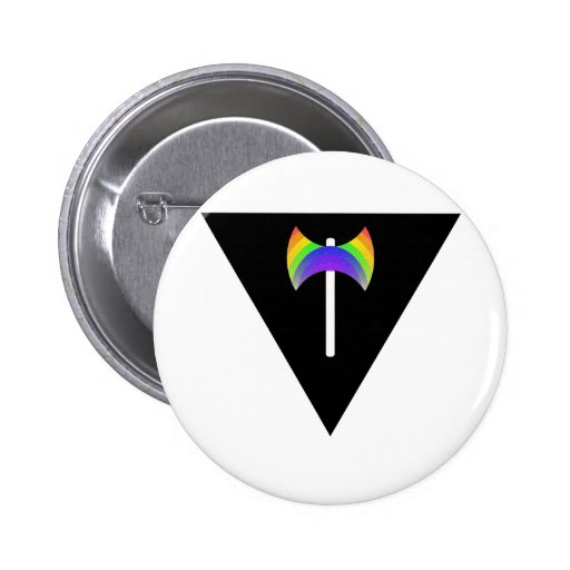 Triangle Labrys Pinback Buttons