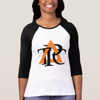 Triangle Ladies 3/4 Sleeve Raglan T-Shirt