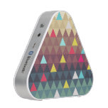 Triangle Landscape Bluetooth Speaker<br><div class='desc'>Abstract landscape caused by reduced form and color to triangular pattern.</div>