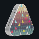 "Triangle Landscape Bluetooth Speaker<br><div class=""desc"">Abstract landscape caused by reduced form and color to triangular pattern.</div>"