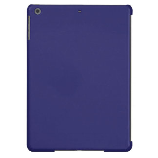 Triangle Lines blue white iPad Air Cover