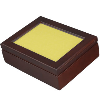 Triangle Lines yellow white Keepsake Box