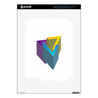 Triangle magic decal for iPad 3