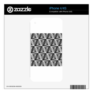 Triangle magic skin for the iPhone 4